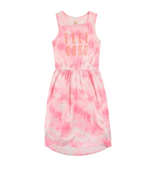 Dress N/S-Fluo Pink