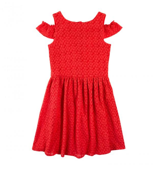 Dress Short Sleeve - Red