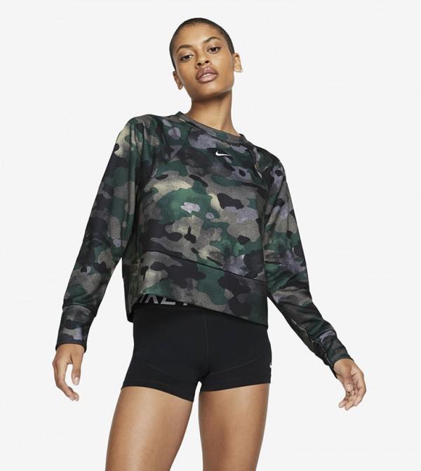 Camouflage Print T-shirt - Multi