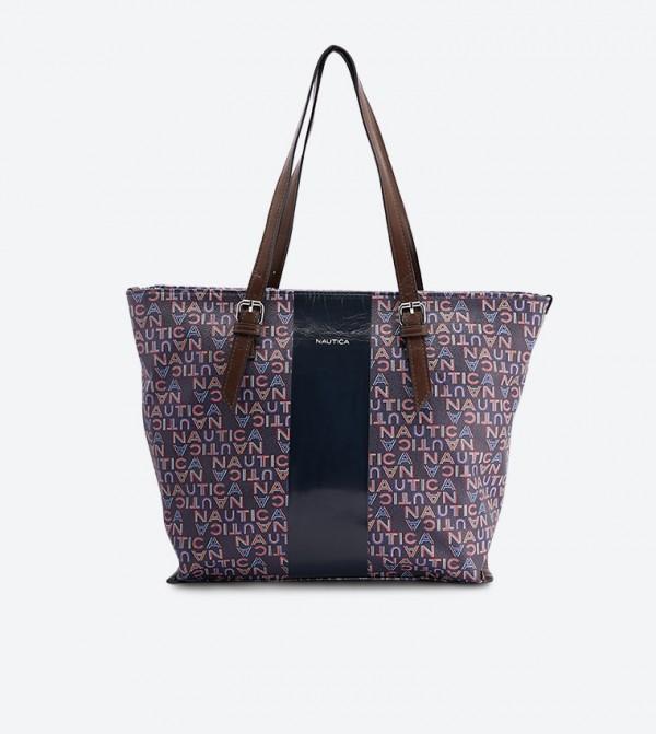 حقيبة سيورثي بحمالة مزدوجة متعددة الألوان