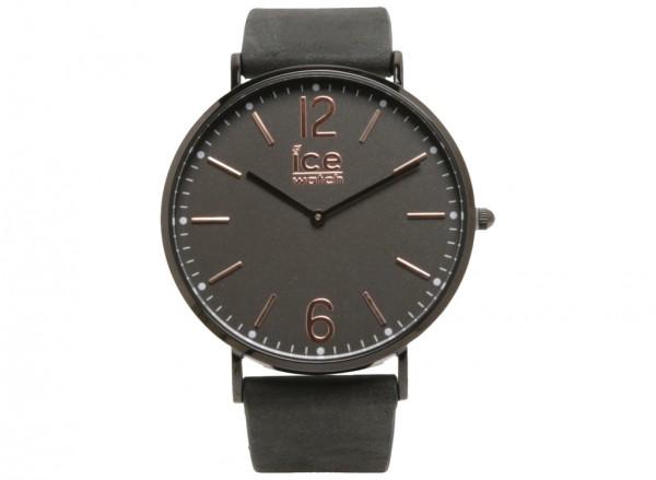 ساعة يد رمادي