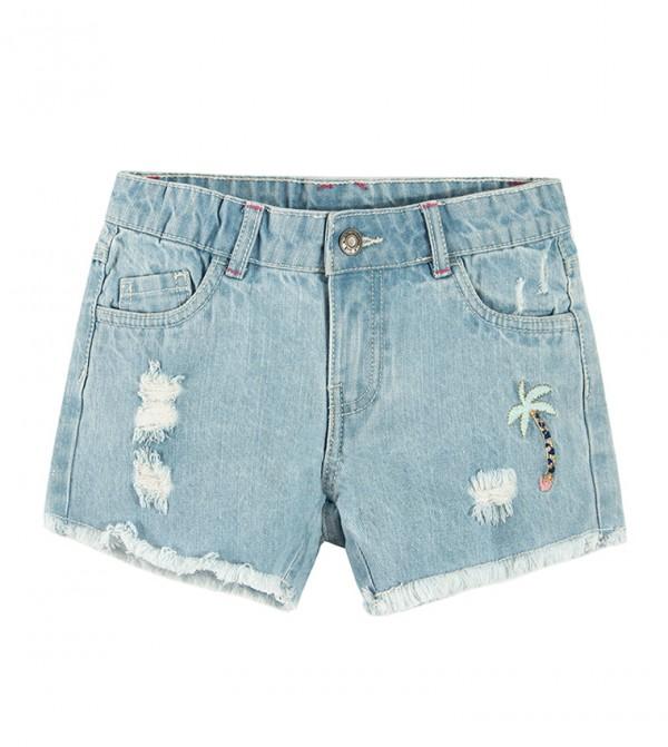 Shorts-Light Denim