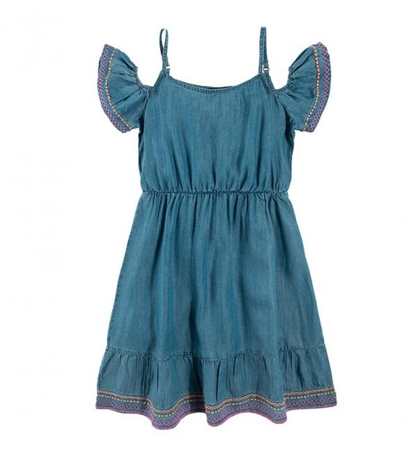 Dress Short Sleeve - Blue