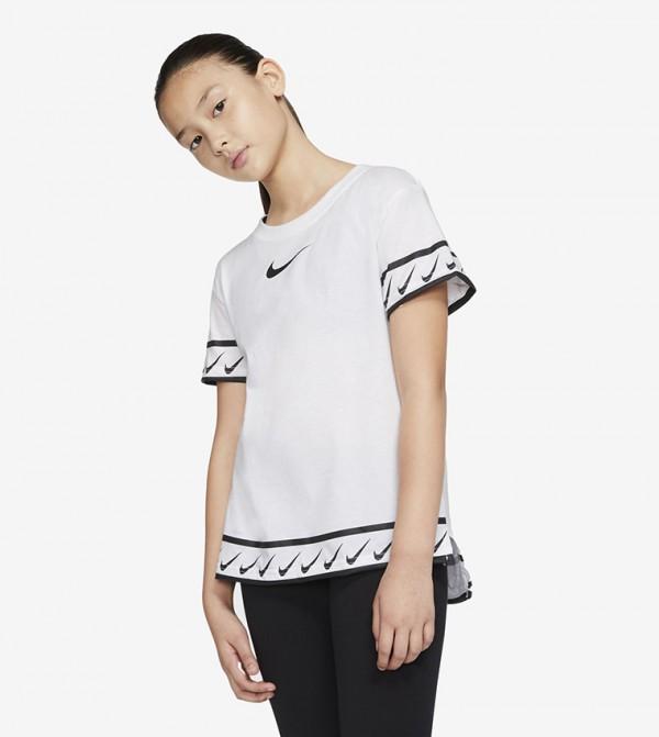 Logo Print T-shirt - White