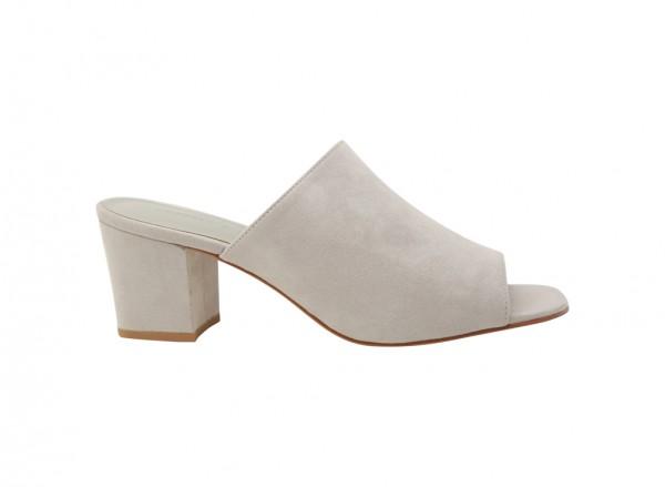 Grey Mid Heel