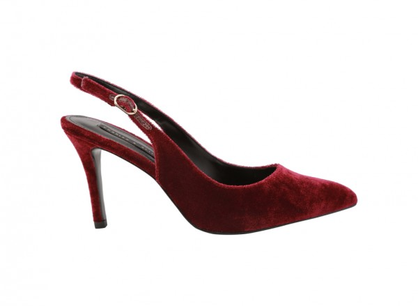Burgundy Medium Heel-CK1-60360910