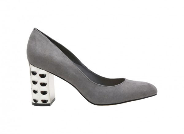 Grey Medium Heel-CK1-60390280