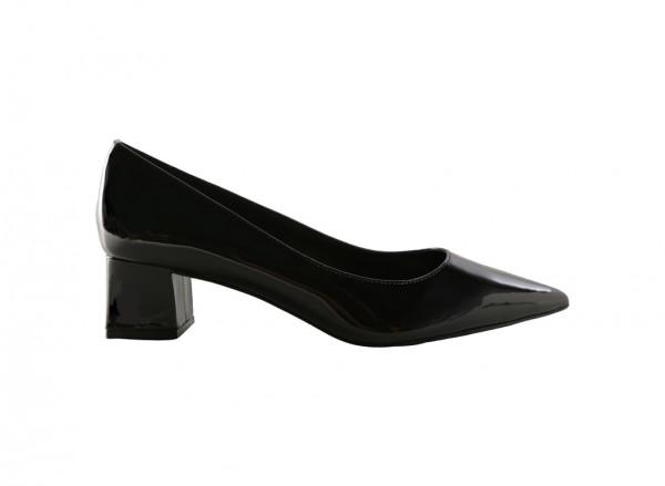 Black Mid Heel-CK1-60900032