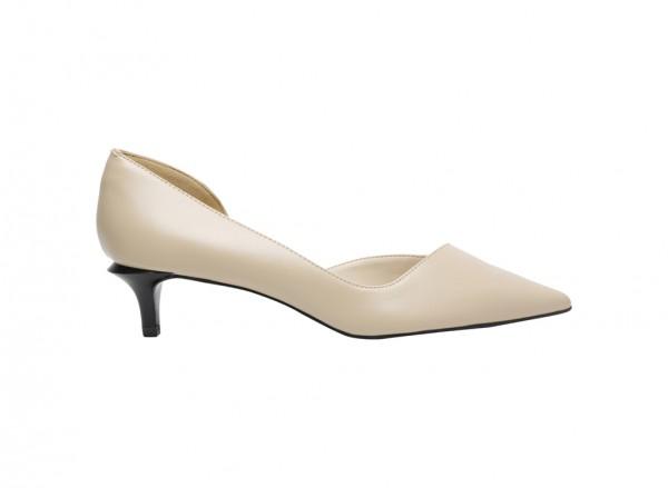 Beige Medium Heel-CK1-60900035