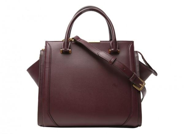Burgundy Shoulder Bags & Totes-CK2-50780186