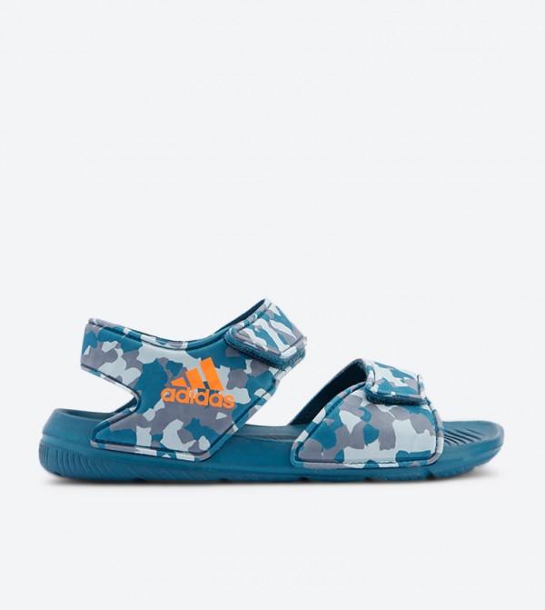 Altaswim Camouflage Printed Sandals - Blue CQ0047