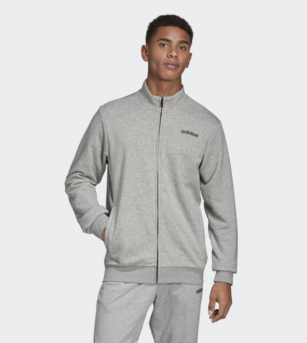 Essentials Linear Track Jacket - Black