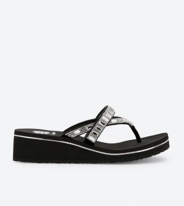 Alanna Wedge Sandals - White DSW-418297