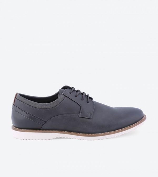 Seven 91 Dobransky Oxford Shoes - Grey