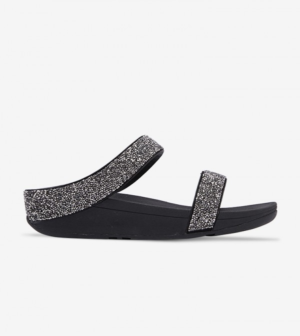Fino Quartz Sandal - Black