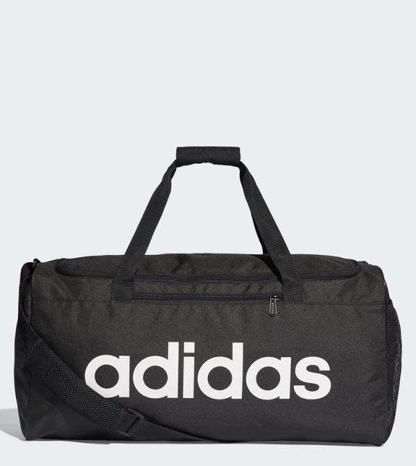 Linear Core Duffel Bag Medium - White