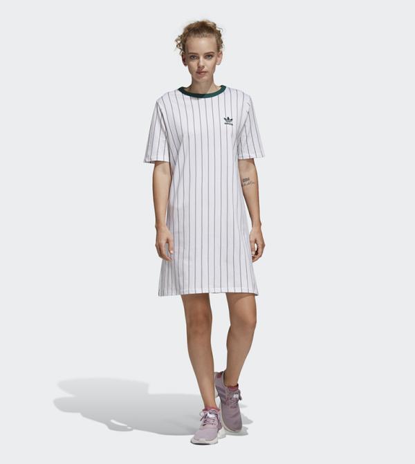 Tee Dress-White