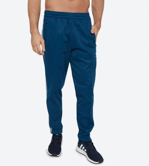 Beckenbauer Elasticated Waistband Track Pants - Blue