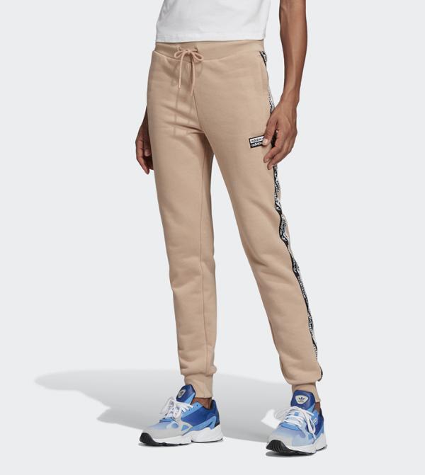 Cuffed Pants-White