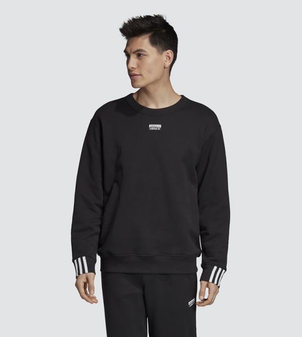 Crew Sweatshirt-Black