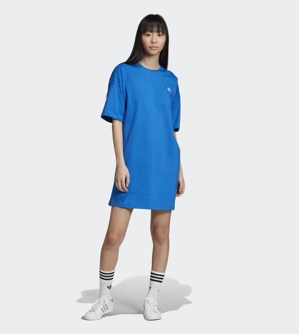 Trefoil Dress - Blue