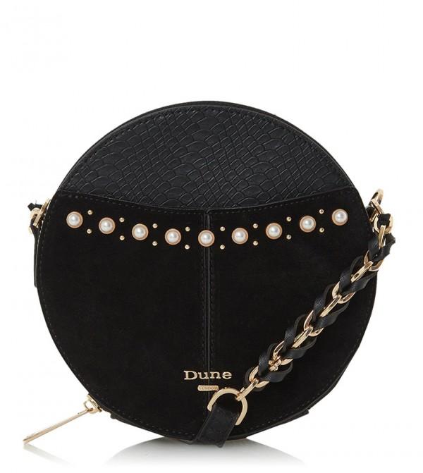 EDANIA - Pearl Trim Circle Cross-Body Bag