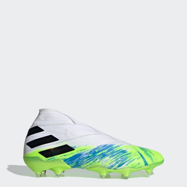 Nemeziz 19+ Firm Ground Boots-Ftwwht/Cblack/Siggnr
