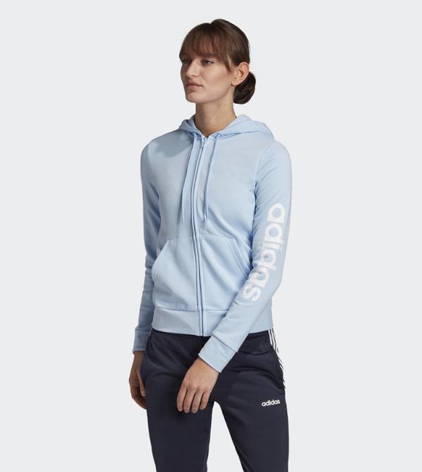 Essentials Linear Hoodie - Blue