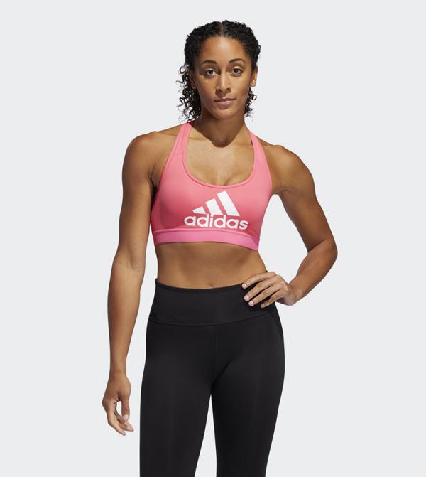 Don'T Rest Badge Of Sport Bra - Pink