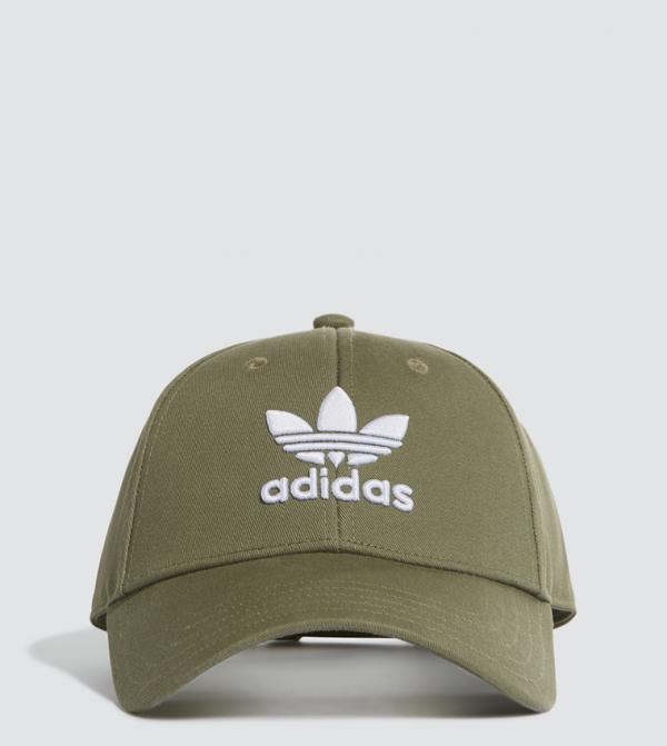 Trefoil Baseball Cap - White