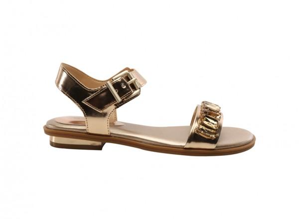 Diamond Gold Mid Heels