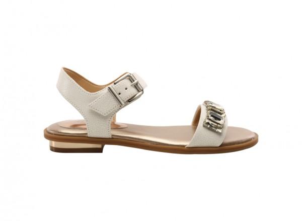 Diamond White Mid Heels
