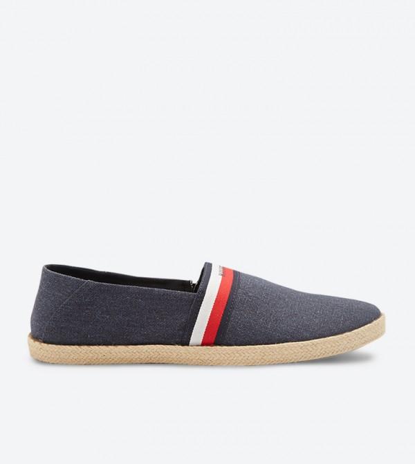 حذاء صيفي سهل الإرتداء لون كحلي