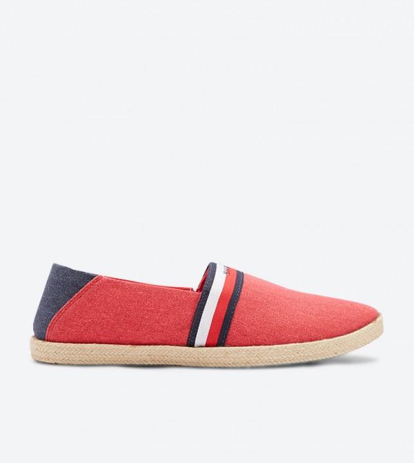 حذاء خفيف الوزن سهل الإرتداء لون أحمر