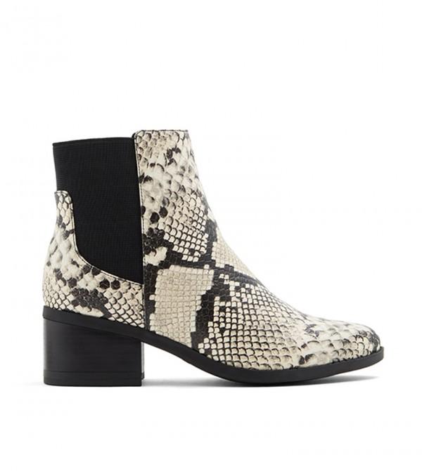 حذاء جريلين بكعب مرتفع لون أسود