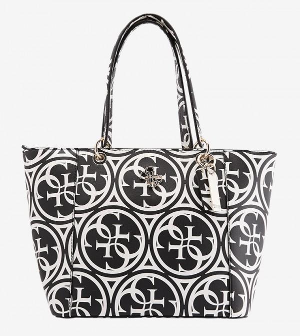 حقيبة يد كارمين بلون أسود