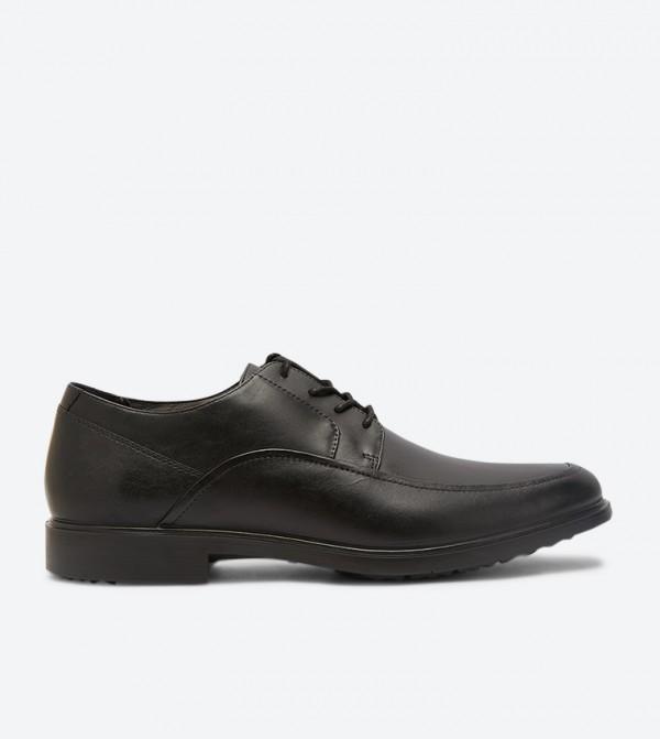 Turner Mt Lace Up Closure Oxford Shoes - Black
