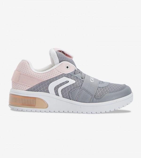 Junior Xled Light Up Girls Sneakers Grey J928DA 014BU C1F8W