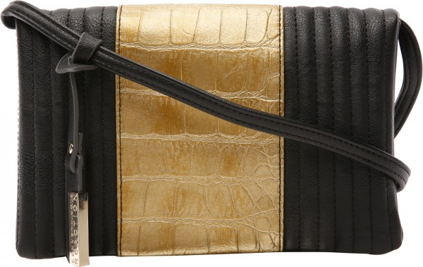Croc N Roll Black Crossbody