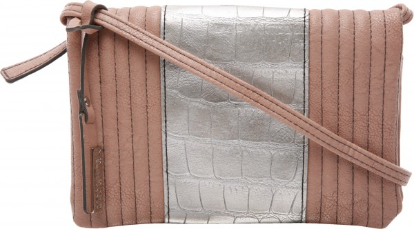 Croc N Roll Pink Crossbody