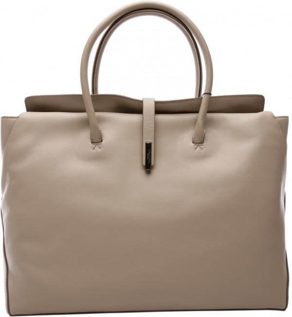 Nyx Fold Over Tot Grey Shoulder Bags & Totes