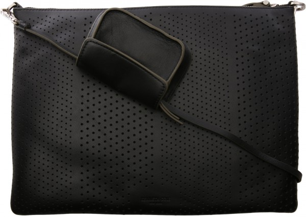Dree Zip Pouch Cr Black Crossbody