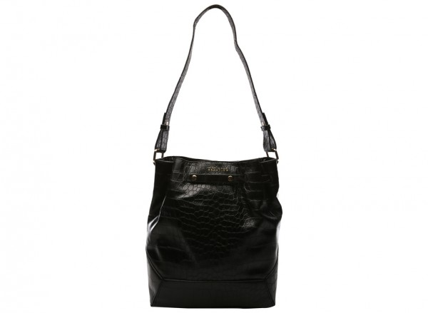 The Stand Up Black Tote