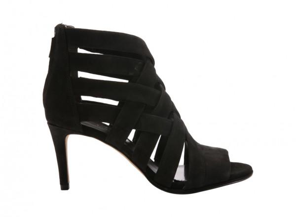 Black Mid Heel-KCKL05269SU