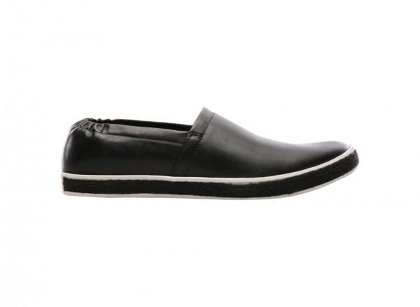 Brand Entrance Black Loafers