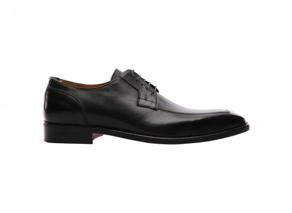Noble Man Black Lace-Ups
