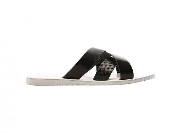 Get Reel Black Sandals