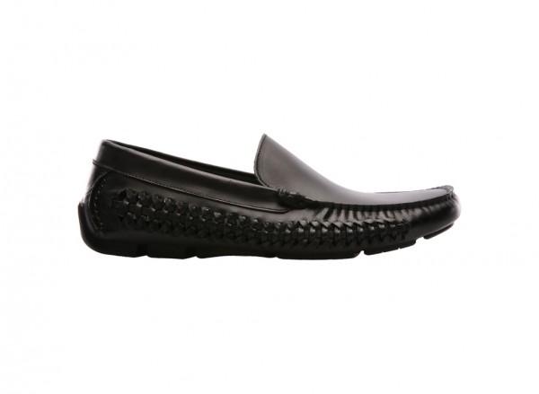 Theme Park Black Loafers