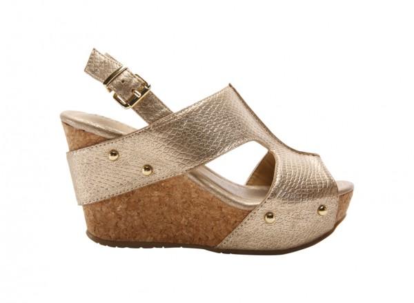 Sole-O Gold Footwear