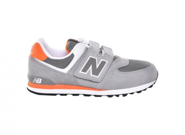 574 Grey Sneakers-KV574P1Y